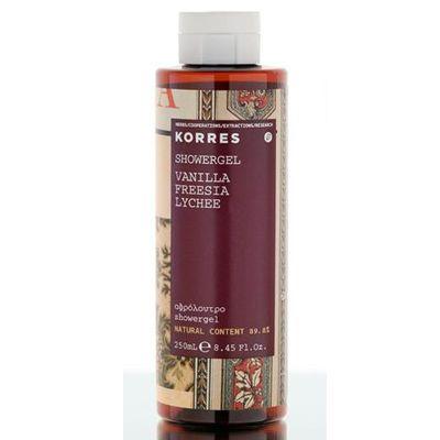 Korres Showergel Vanilla är en blandning av exotisk färsk kokos med varm krämig…