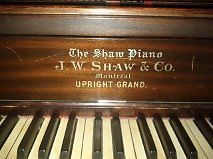 piano Shaw & Co   articles multiples   Laval / Rive-Nord   Kijiji