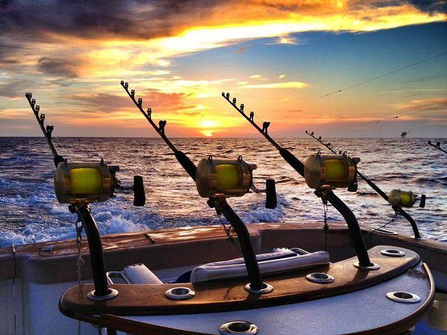 How can you not enjoy fishing when you have something that beautiful surrounding you?