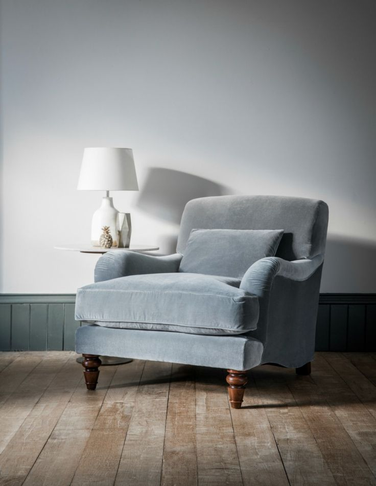 Velvet Armchair from Rose & Grey