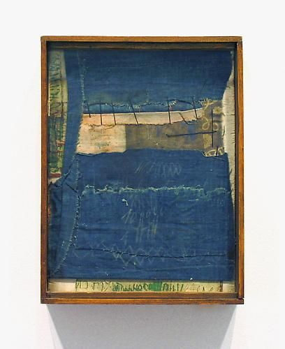 Untitled, 1980, Hannelore Baron Wood, fabric, acrylic, and ink 10 5/8 x 8 1/8 x 2 5/8 inches