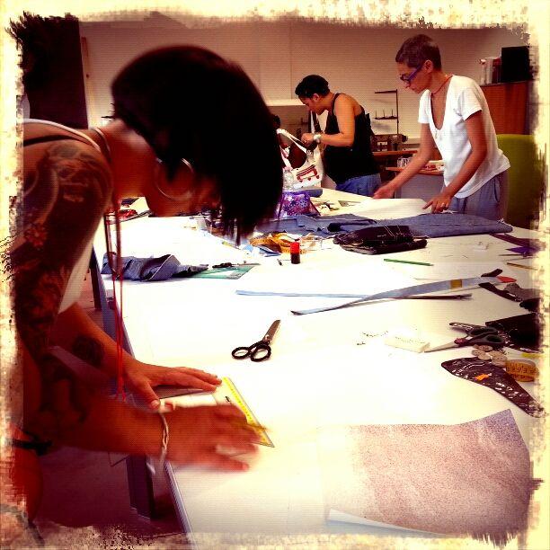 At #Work2 # all'#Ecosartoria del #Cesp, #Nuoro. Foto di #Graziano #Fronteddu.