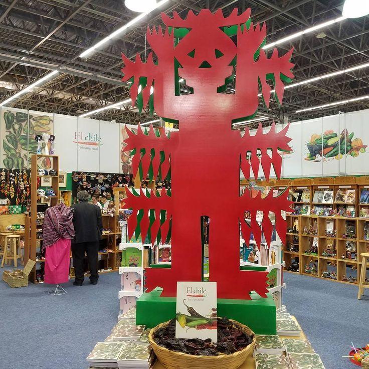 Beautiful booth from Arte Mexico. #mexico #artemexico #internationalbookfair #books #reading #libraries #librarianlife #librarian #guadalajara #arts #arte