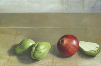 Cumberland Gallery Jim  Phalen Chayote and Pomegranate