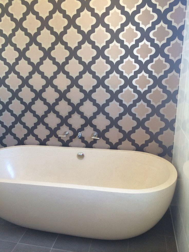 My Moroccan inspired bathroom