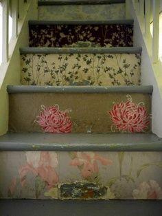 Best 25 Wallpaper Stairs Ideas On Pinterest Attic