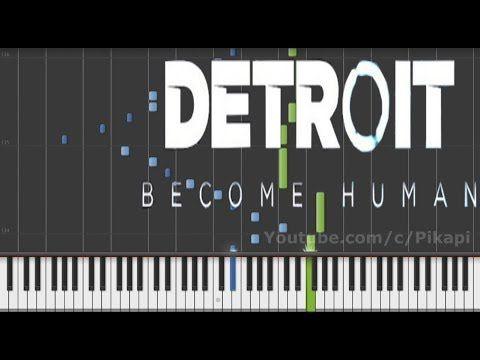 Detroit: Become Human OST - Kara Main Theme Piano Synthesia