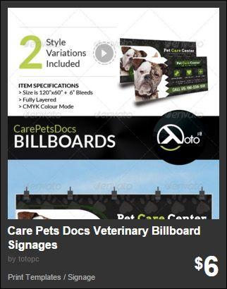 Care Pets Docs Veterinary Billboard Signages