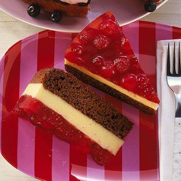 Rote-Grütze-Torte Rezept   Küchengötter
