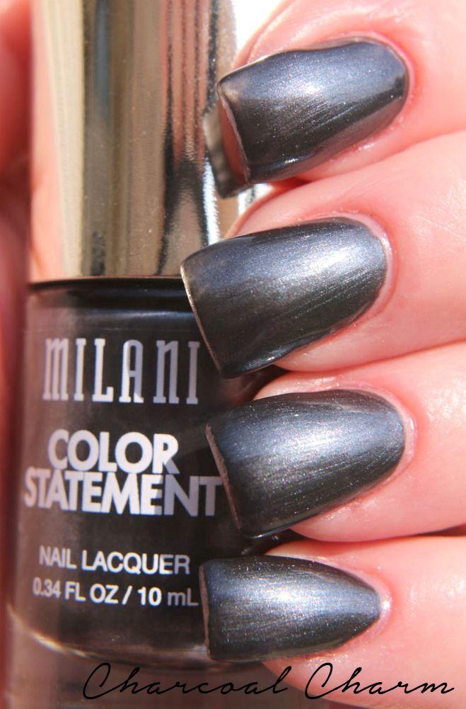 Milani Cosmetics Color Statement Nail Lacquer #milanicosmetics #milani #nailpolish. See more swatches at www.beingmelody.com