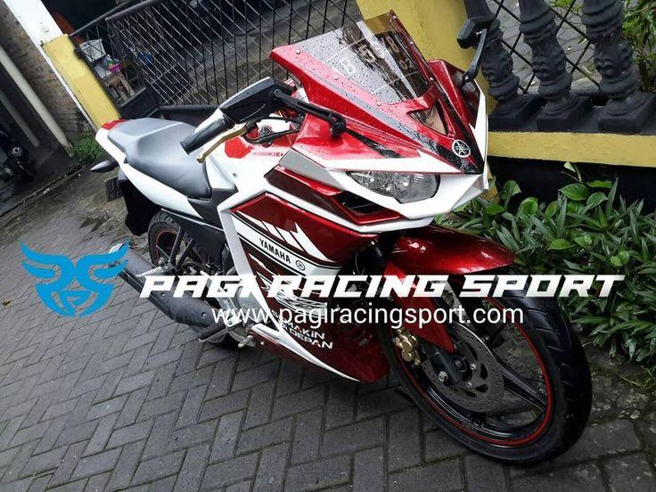 Vixion Lightning ini pakai body set depan R25 bgmna pendapat Agan-Agan sekalian ? . . . . #R25 #VixionFairing #VixiongLightning #PagiRacingSport #VariasiYogyakarta #ModifikasiMotor #Modifikasi #MotorSport #MotorNaked #ModifikasiYamaha #Yogyakarta #SlemanModifikasi #VixionMerah #VixionPutih #FotografiMotor