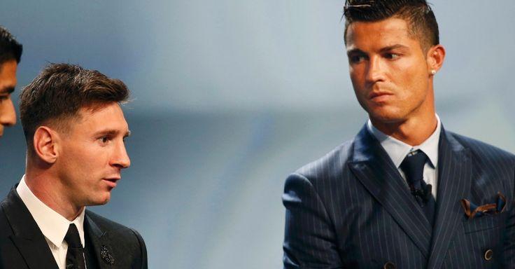 Cristiano Ronaldo confessa que foi difícil ver Messi ganhar Bolas de Ouro