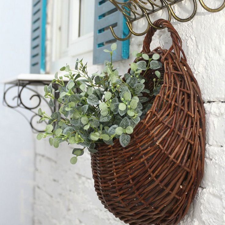 Rattan Flower Baskets : Top best hanging flower baskets ideas on