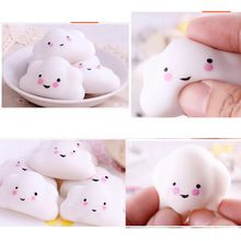 Mini Squishy Mini Kleine Cloud Zachte squeeze Druk Trage Stijgende brood Cake Kid Speelgoed Hobbie Gift Healing Speelgoed Geschenken Vent speelgoed(China (Mainland))