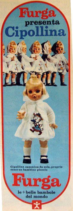 Cipollina Furga pubblicità 1968