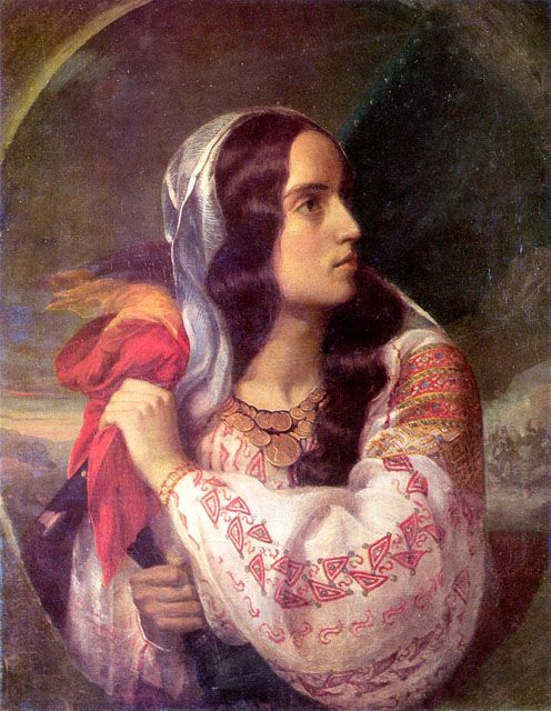 Revolutionary Romania - Constantin Daniel Rosenthal (1820-1851, Romanian of Austrian-Jewish birth)