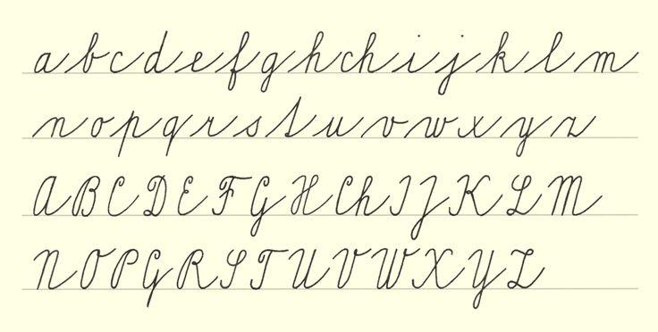 Typofilos » Blog Archive » Normalizované školní písmo