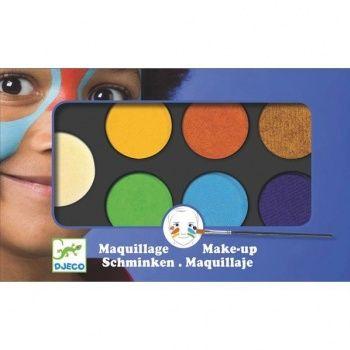 Farby do malowania twarzy Djeco - Nature