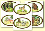 'The Gruffalo' Sequence Cards