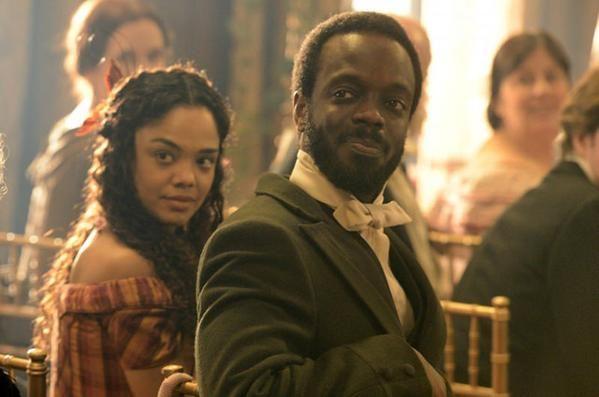 """... Thompson and Ato Essandoh in BBC America's """"Copper."""" (BBC America"""