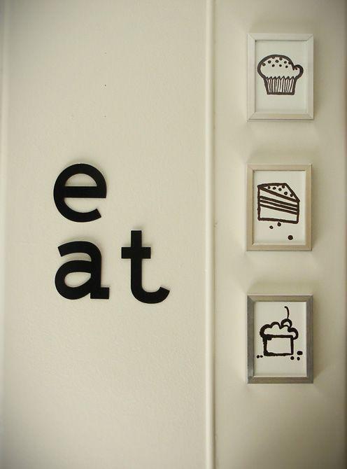 Kitchen wall art   POPSUGAR Social