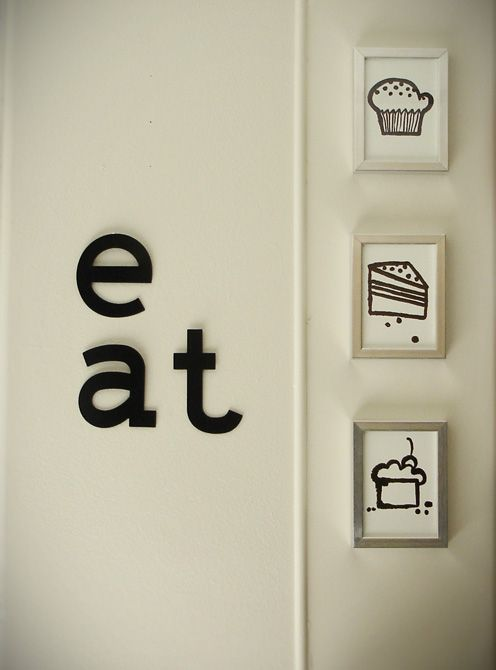 Wall Art For Kitchen Walls : The best images about kitchen wall art on