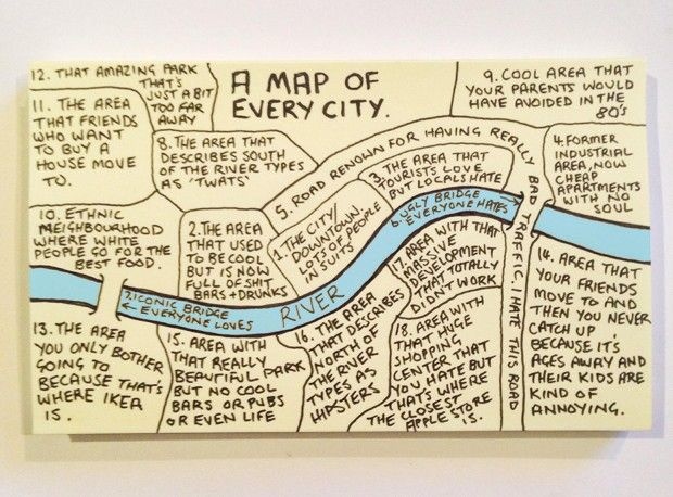 How to Draw a 'Map of Every City': Best #Cityreads of the Week