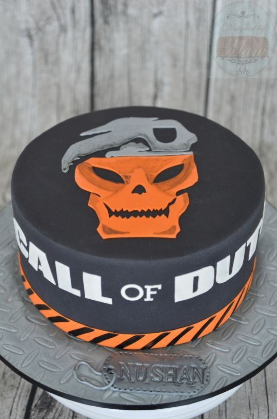 """Call of Duty"" cake"