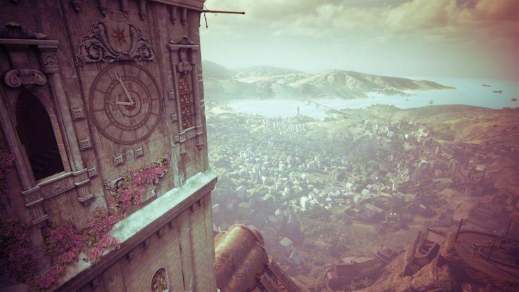 Uncharted 4: clocktower wallpaper