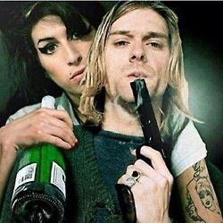 Amy winehouse & Kurt cubain R.I.P