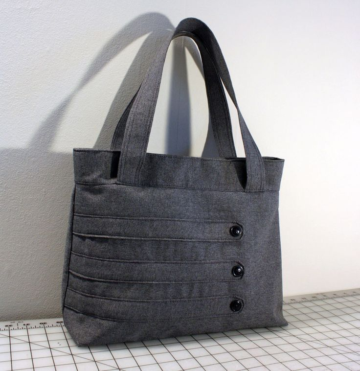Customizable Medium Tote Bag with Decorative Straps -- Choose Your Color by WhitneyJude on Etsy https://www.etsy.com/listing/90698236/customizable-medium-tote-bag-with