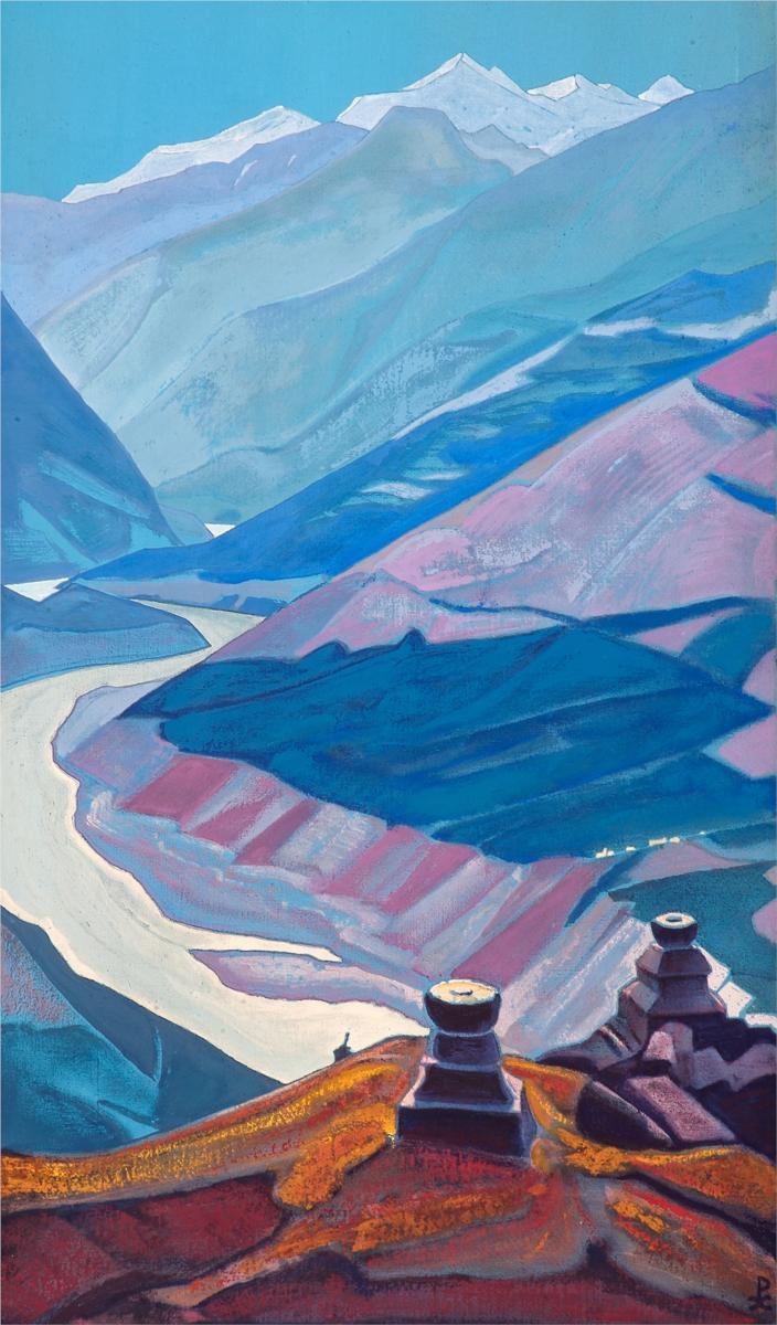 Chandra-Bhaga (Path to Triloknath), 1932  Nicholas Roerich