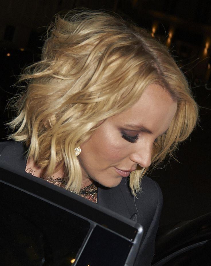 Britney Spears in Rhea Costa Autumn/Winter 2015 dress – 'The Intimate Britney Spears' European Launch in Copenhagen.