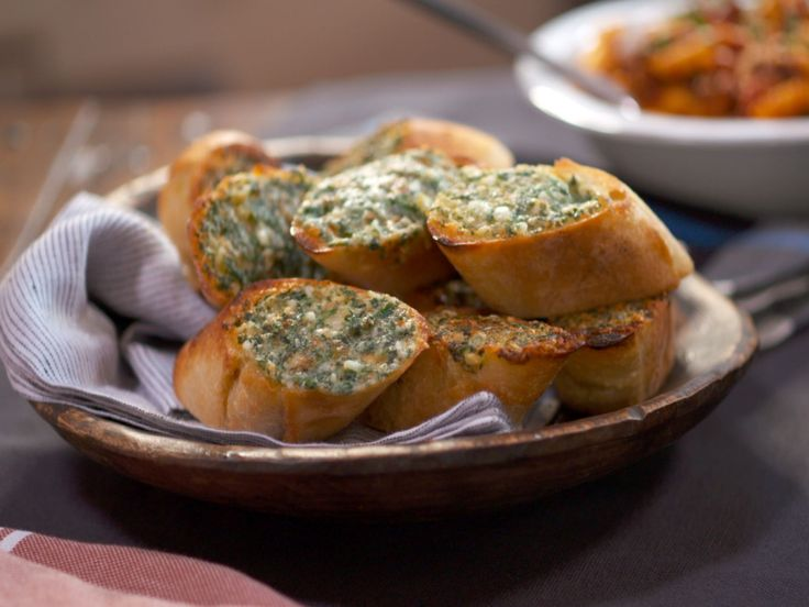 3-Cheese and Herb Garlic Bread recipe from Nancy Fuller via Food Network