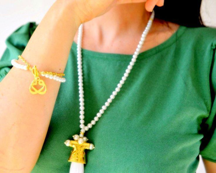 Kaftan Holy Beads, Caftan Necklace, Ottoman Dress …