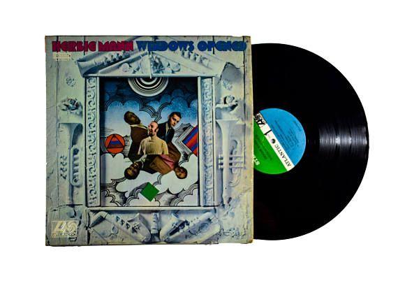 Herbie Mann Windows Opened LP Album 1968 Modal Jazz Paper Man
