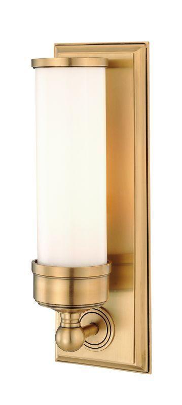 Hudson Valley Lighting 371 Indoor Wall Sconce Light Aged Brass Indoor Lighting Wall Sconces Up Lighting