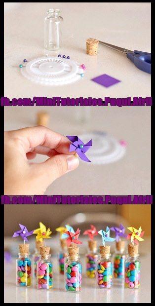 Lindas lembrancinhas fáceis de fazer para suas festas de aniversário das crianças