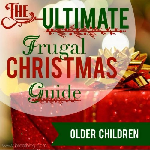 The Ultimate Frugal Christmas Guide {Older Children} on AVirtuousWoman.org #frugal #christmas