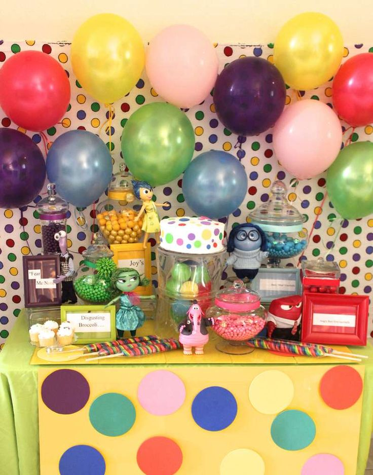 Inside Out Birthday Party Ideas | Photo 4 of 46 | Catch My Party