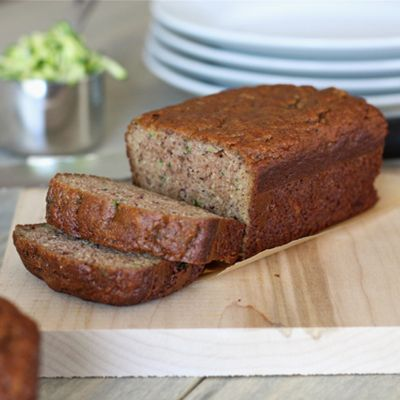 Paleo zucchini bread made with almond flour.