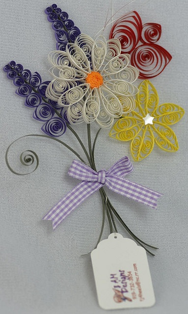 Quilled Spring Bouquet