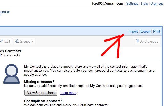 Cara praktis mengimport ribuan daftar kontak ke smartphone android.