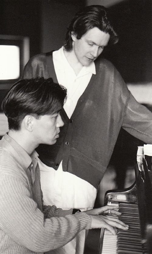 David Sylvian and Ryuichi Sakamoto (secrets of the beehive, 1987)