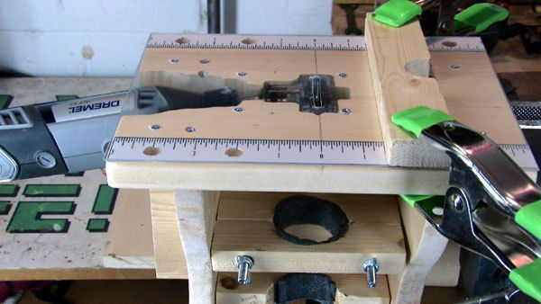 """Mini - Table Saw / Router / Shaper for Dremel rotary tool. Now that the Dremel contest voting is over I guess it's ok to update this instructable. Here is a """"supplement"""" video showing the table saw extension in action. :)"""