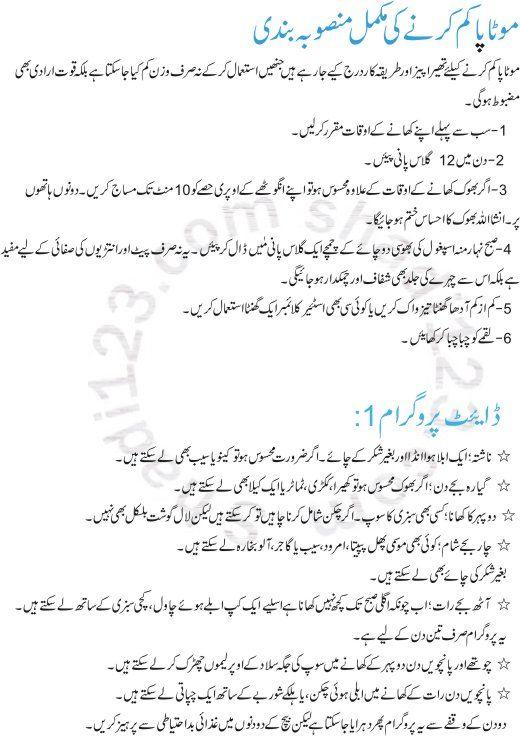 totkay pierdere în greutate urdu)