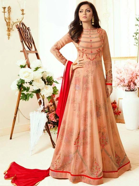 f0371f2257 Pin by Liinara | Designer Ethnic Wear Store on Madhubala Dresses Collection  | Anarkali suits, Anarkali dress, Long anarkali