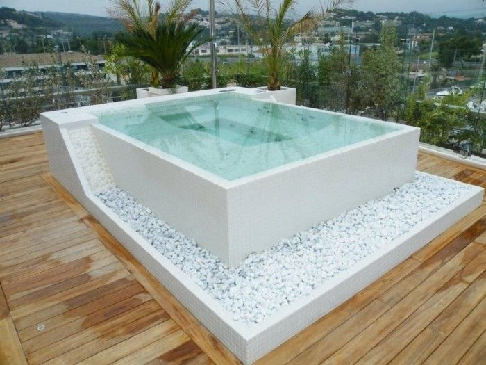 Apartment Rooftop Jacuzzi Hot Tub Backyard Jacuzzi Outdoor Apartment Rooftop