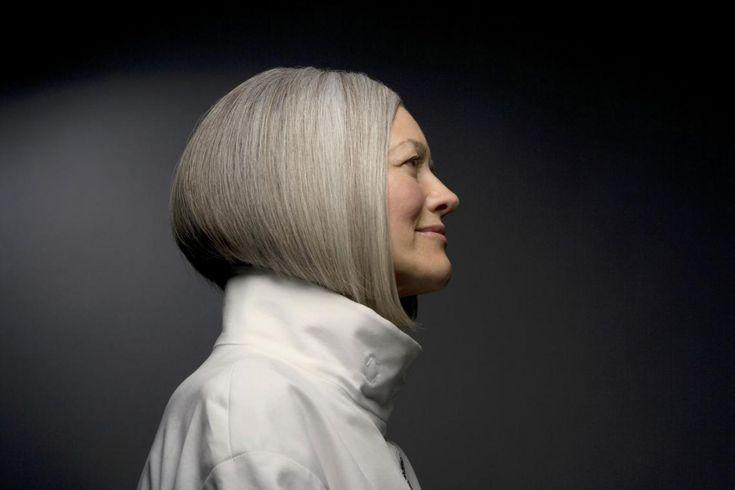 Grau werden Grau-pflegend – Frisuren für Frauen & Stiltipps, #frauen #Frisuren …