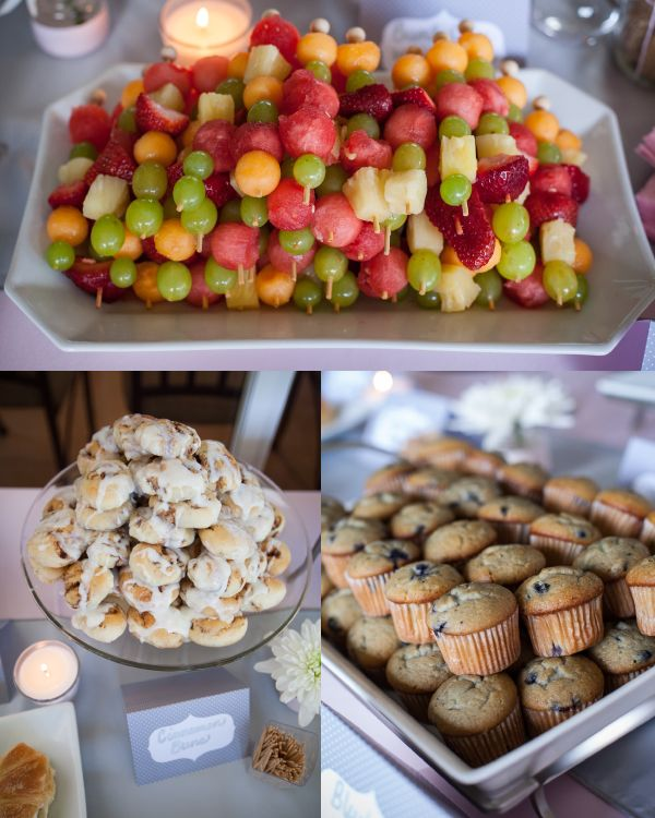 Baby Girl Baby Shower Food Ideas: Baby Shower Menu - Google Search